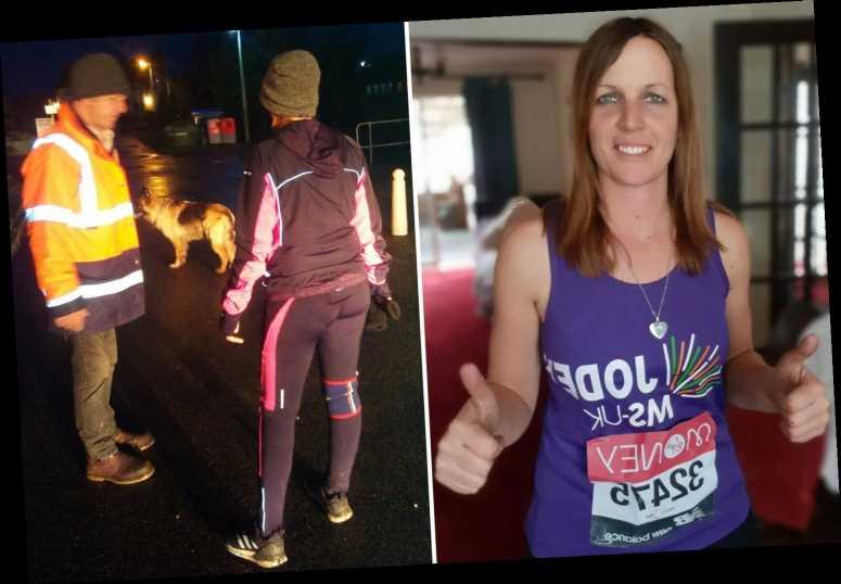 Charity fundraiser doing virtual London Marathon goes 23 MILES too far due to dodgy GPS