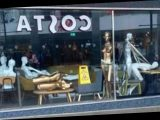 Pranksters get into empty Debenhams and set up mannequins in X-rated sex show in front window of Costa