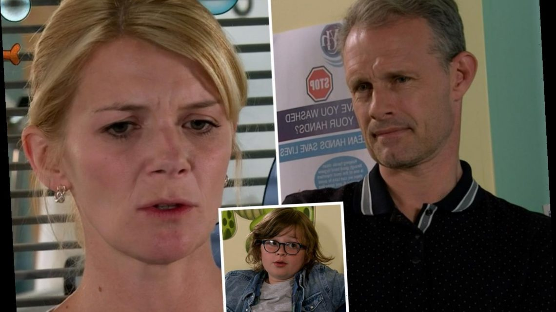 Coronation Street fans sob as Leanne ends things with Nick Tilsley over his secret son Sam