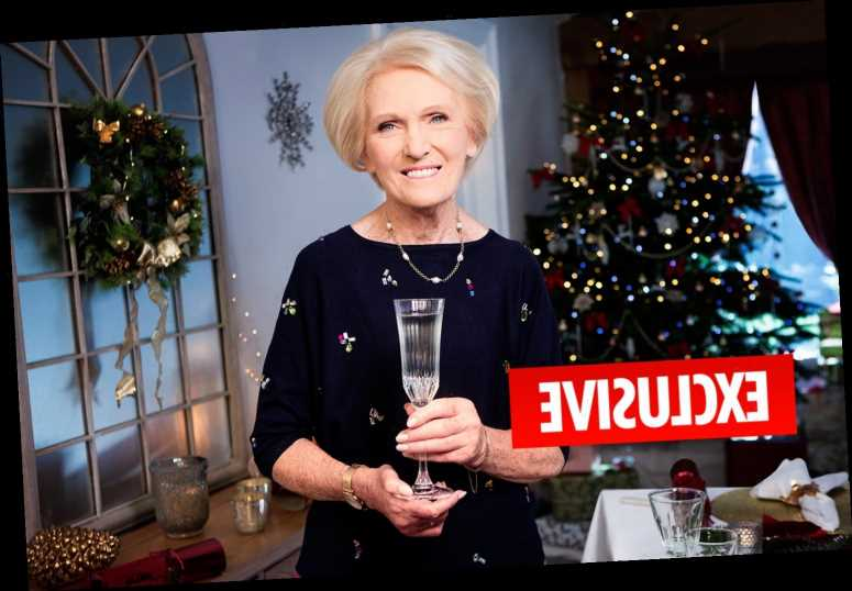 Mary Berry lands BBC show to 'save Christmas' by teaching useless amateurs how to cook