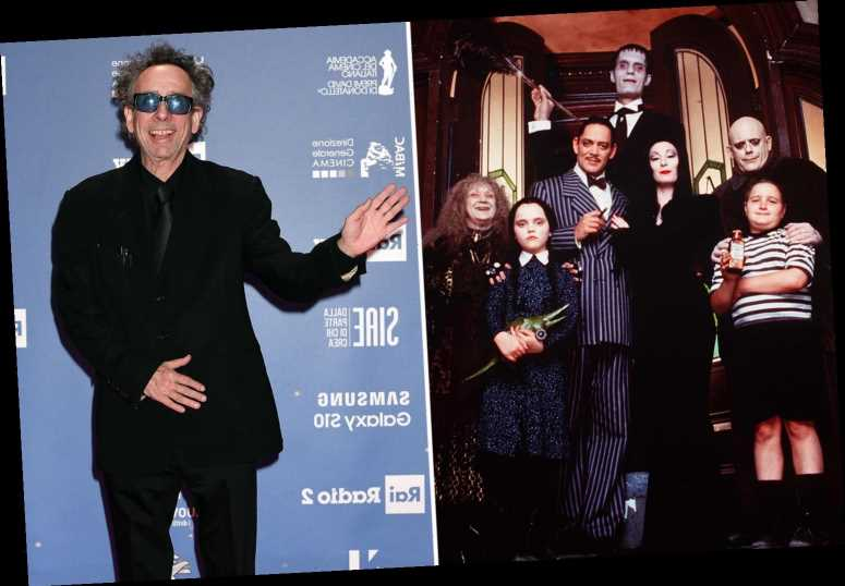 Tim Burton rebooting The Addams Family as his first ever live-action TV series – but with a major shake-up