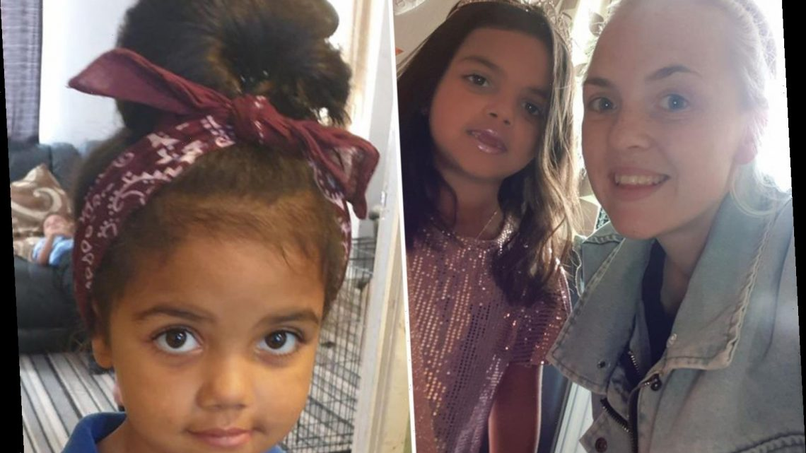 Mum heartbroken as 'beautiful' mixed-race daughter, 6, begs to be white after classmate told her to 'bleach herself'