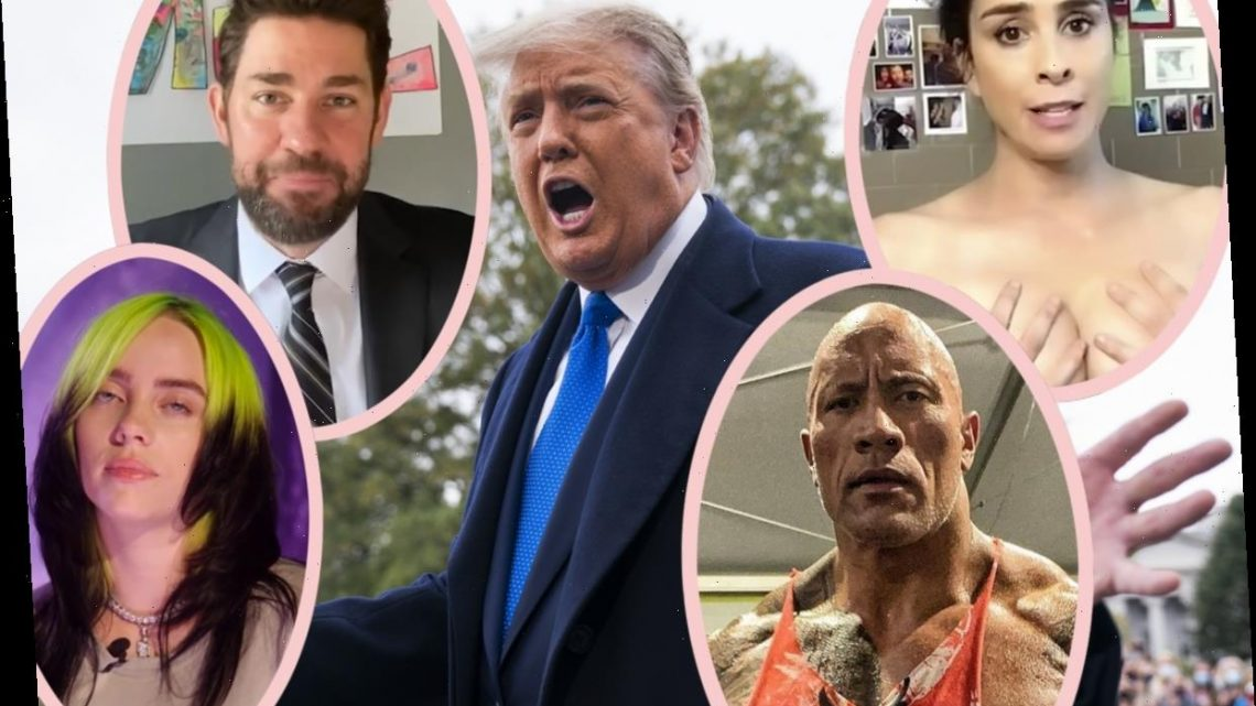 Trump Team Asked SO MANY Celebs To Do Taxpayer-Funded COVID Ads – You'll Be SHOCKED Who Said 'Maybe'!
