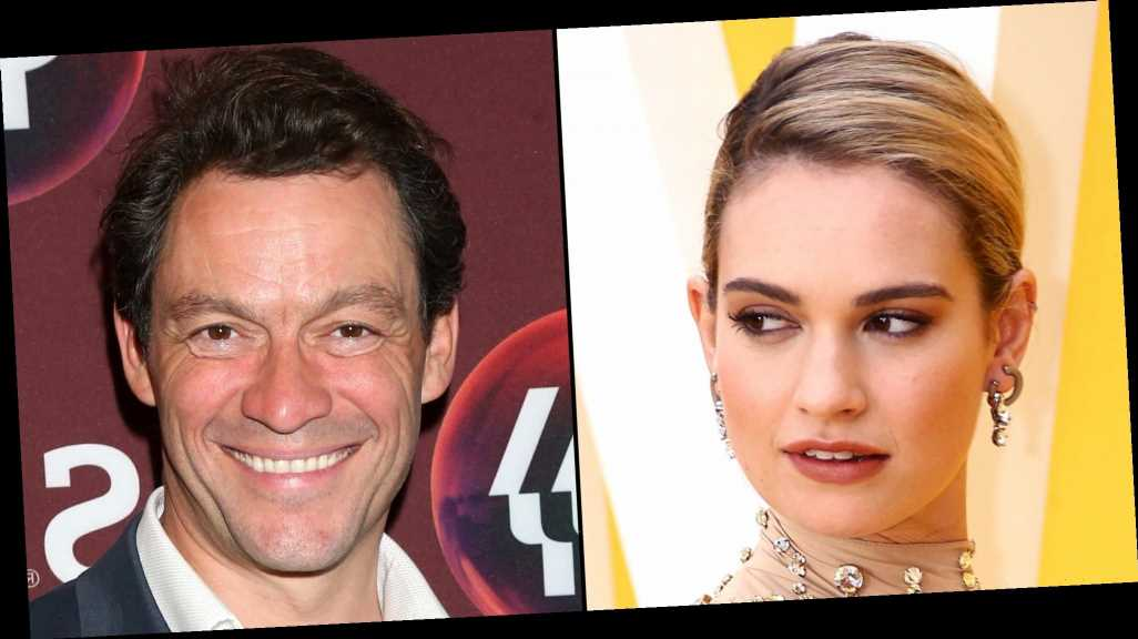 Lily James Said She Makes Mistakes 'All the Time' Before Dominic West Kiss