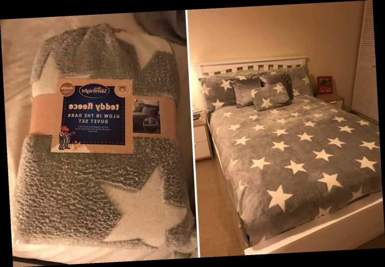 Shoppers go wild for Tesco's £7.50 glow-in-the-dark teddy fleece bedding & pillow cases are only £1.25