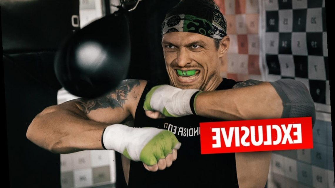 Oleksandr Usyk favouring Anthony Joshua fight over Tyson Fury but warns 'they can't get away from me anyway'