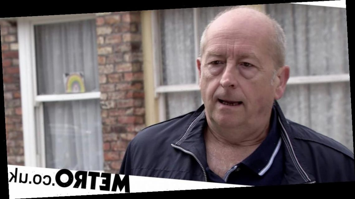 Spoilers: Geoff Metcalfe's major new secret exposed in Corrie