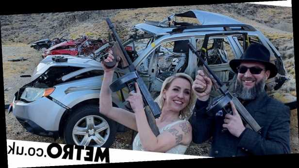 Tourists can blow up cars and shoot rifles in action-packed desert park