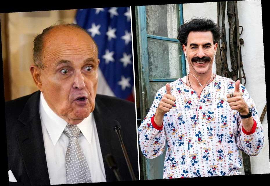 Rudy Giuliani Will Definitely Regret Filming 'Borat' Sequel Interview