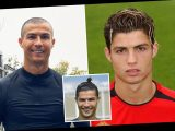 Cristiano Ronaldo's hairstyles through the years, from new shaved look to blond streaks, top knot and the 'toilet brush' – The Sun