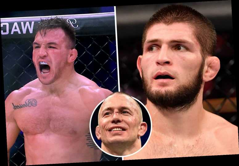Khabib 'evicts' Michael Chandler from UFC Fight Island and claims only fight he wants is St-Pierre – dismissing McGregor
