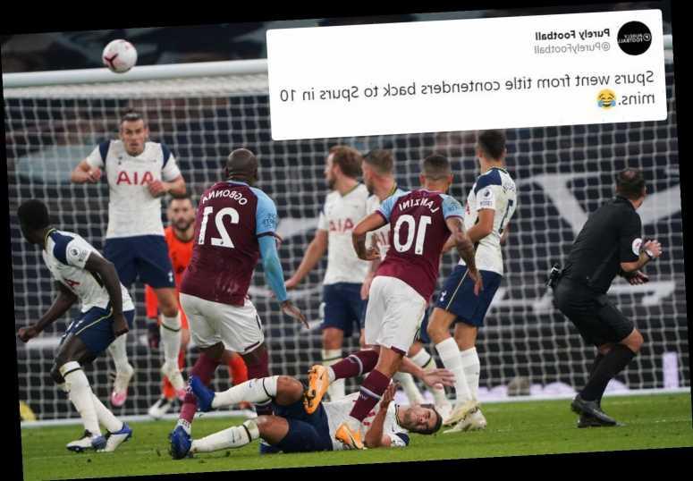 Manuel Lanzini's Goal of the Season contender sends Twitter into meltdown as West Ham seal amazing 3-3 draw vs Spurs