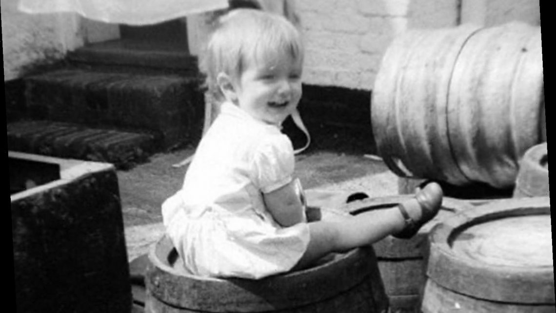 Piers Morgan is unrecognisable in old childhood photo as fans poke fun at 'recent' snap star shared for comparison
