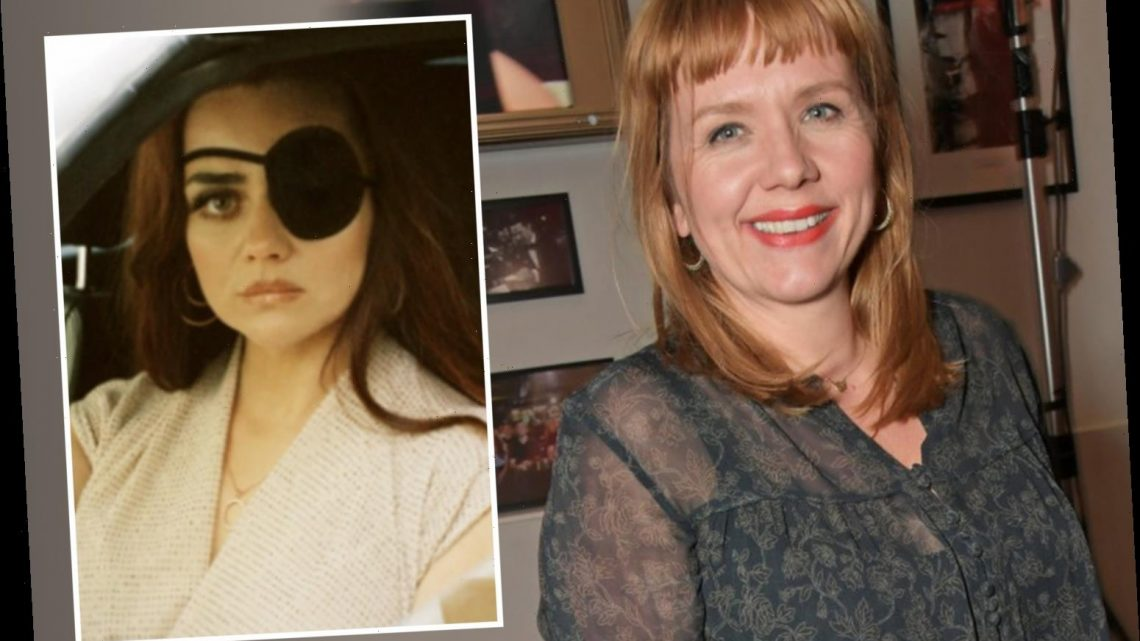 Adult Material star Kerry Godliman admits drama's graphic sex scenes left her 'scared and upset' about porn