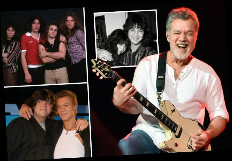 Eddie Van Halen dead at 65 – Guitarist dies following throat cancer battle after doctors found it 'moved to his brain'