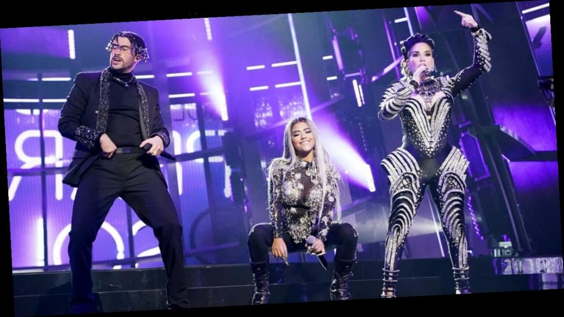Bad Bunny Brings Out Ivy Queen and Nesi For His Powerful BBMAs Performance Debut