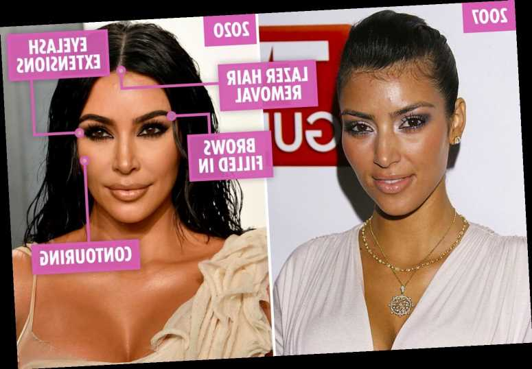 Kim Kardashian's changing face as she hits 40… and why she's probably about to reach for the Botox