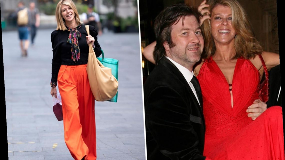 Kate Garraway reveals Derek can breathe on his own after tracheostomy tube is removed but covid left him type 1 diabetic