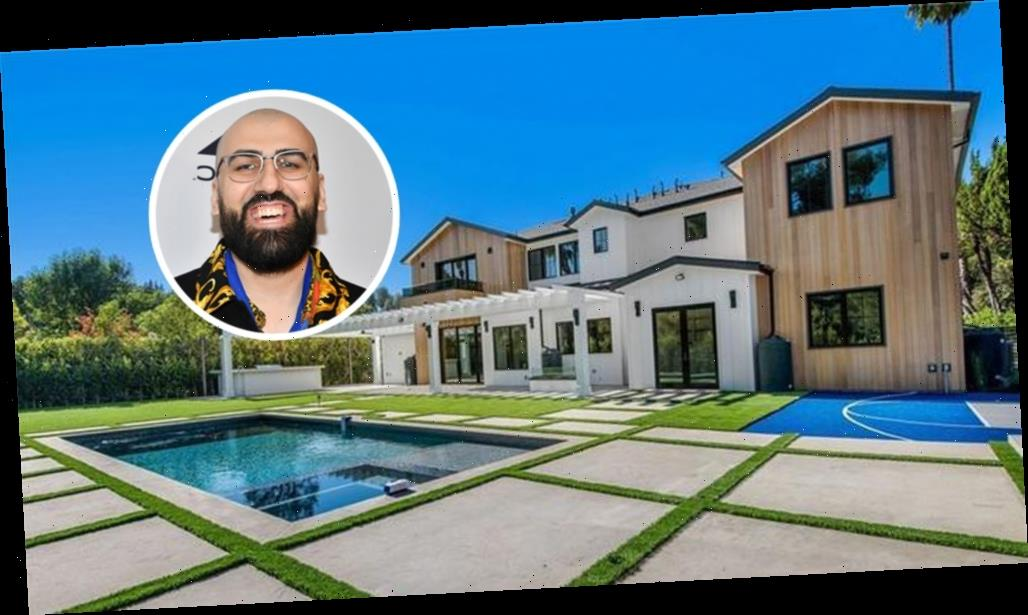 Record Producer D.A. Got That Dope Tunes Into Encino Mansion