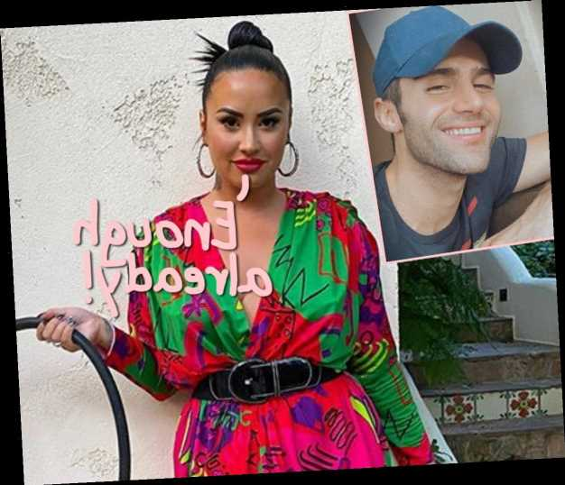 Demi Lovato Reportedly Having 'All Sorts Of Issues' With Max Ehrich Not Leaving Her Alone