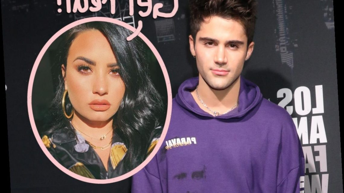 Twitter Is NOT Buying Max Ehrich Weeping On The Beach Over Demi Lovato Breakup