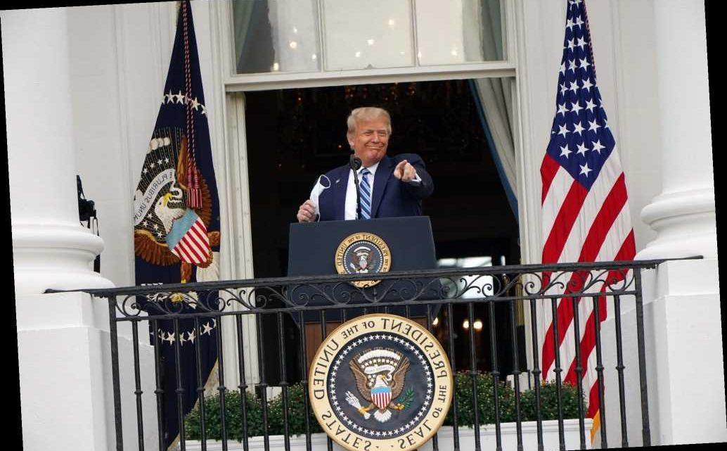 Trump makes first live public address since COVID-19 hospitalization