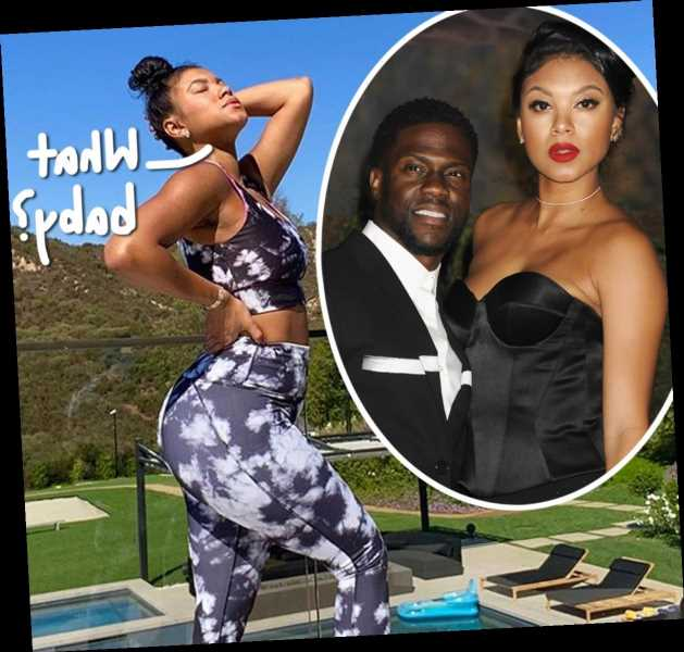 Kevin Hart's Wife Eniko Parrish Shows Off Trim Bod Just 12 Days After Giving Birth – Look!