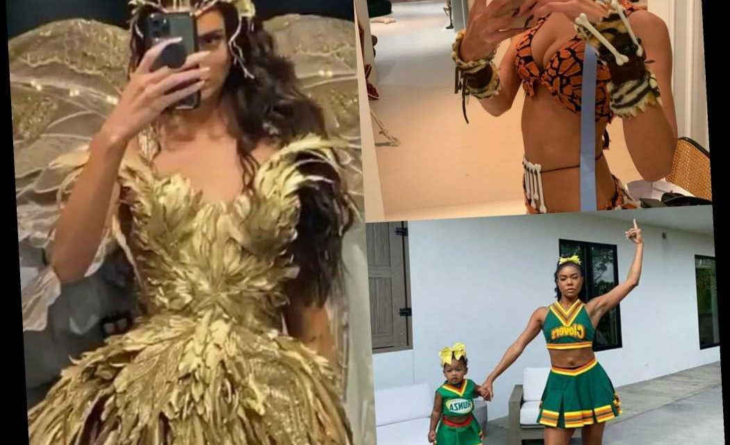Will Celebs Get Creative In Quarantine?! Looking Back On Every Spooky & Sexy Halloween Costume From 2019!