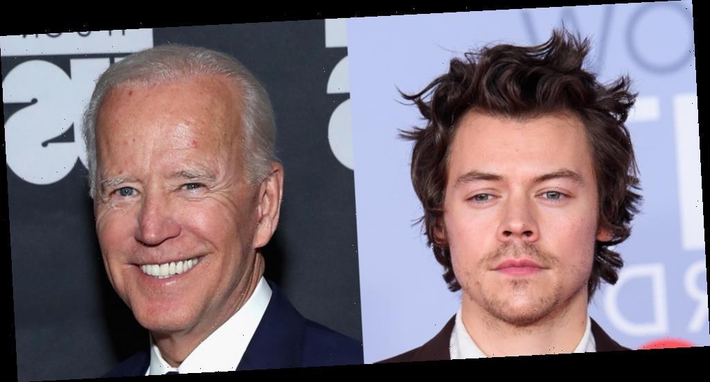 Harry Styles Tweets Support For Joe Biden