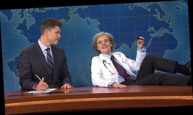 Kate McKinnon Breaks Character As 'Dr. Wayne Wenodis' & Freaks Out Over Trump's Coronavirus On 'SNL'