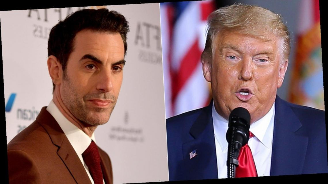 Sacha Baron Cohen has harsh words for Donald Trump after his criticism