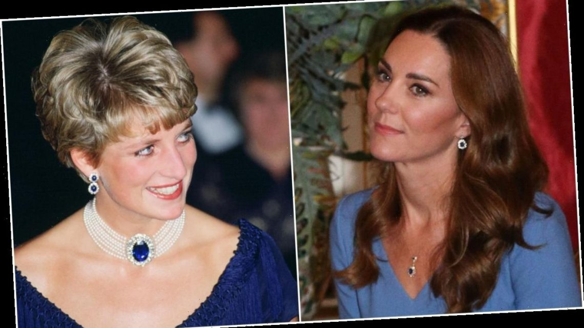 Kate Middleton Might Have Turned Princess Diana's Iconic Earrings into a Whole New Necklace
