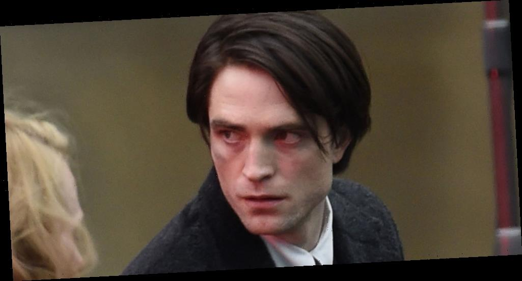 Robert Pattinson & Zoe Kravitz Continue Filming A Somber 'The Batman' Scene in Liverpool