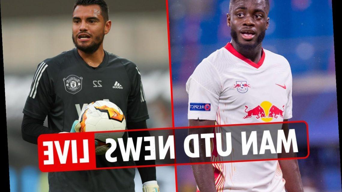 6.30pm Man Utd news LIVE: Ole on Upamecano, Edinson Cavani free to face RB Leipzig, transfer battle with Liverpool – The Sun