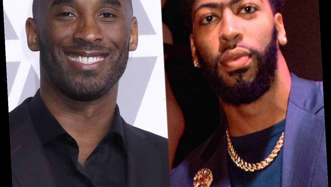 Lakers Star Anthony Davis Reflects on Close Bond With Kobe Bryant in Heartwarming Story