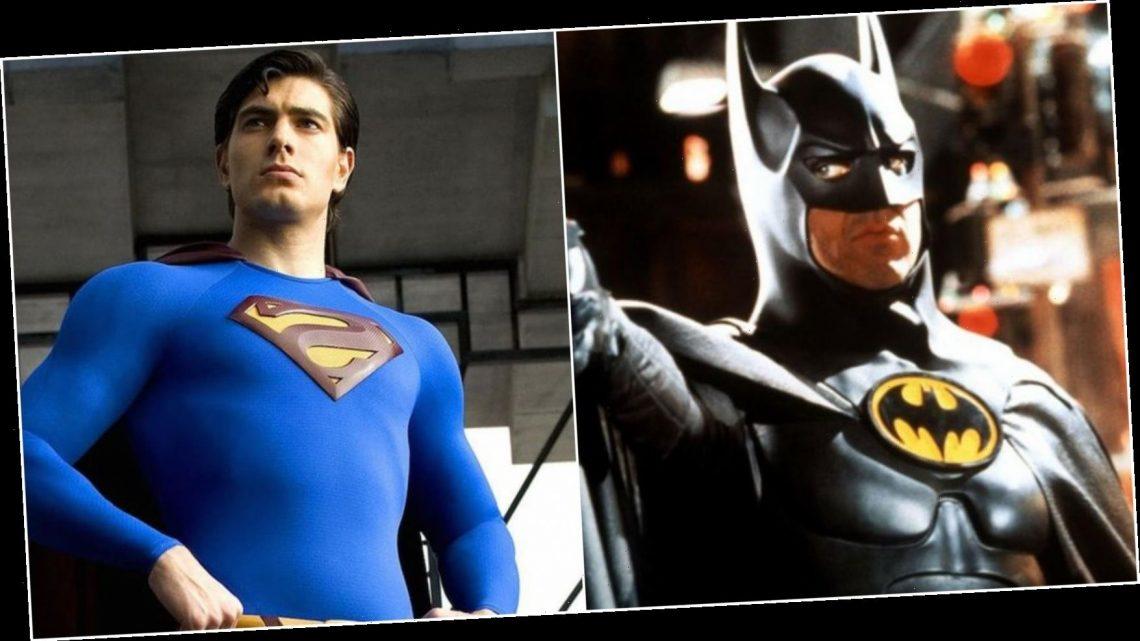 [Photo] Fan Art Shows Michael Keaton's Batman Meeting Brandon Routh's Superman