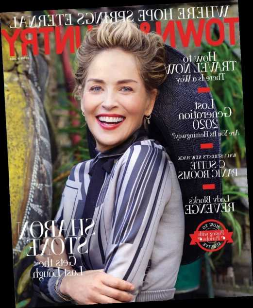 Sharon Stone: 'You don't really get work between 40 and 60, it doesn't matter'