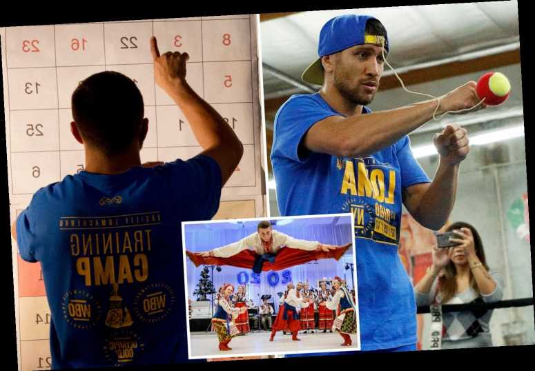 Vasyl Lomachenko uses maths puzzles, folk dancing and holding his breath in training for Lopez fight