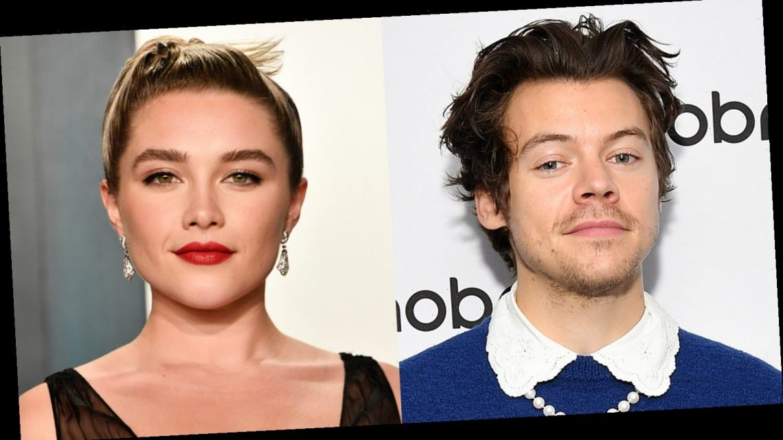 Harry Styles Meets Up with 'Don't Worry Darling' Co-Star Florence Pugh for Lunch!
