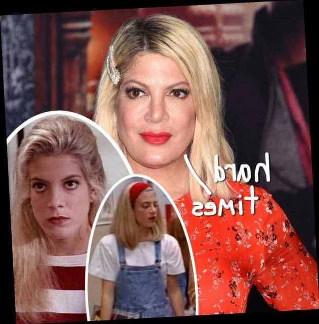 Tori Spelling Remembers Being Bullied For Her Looks On Beverly Hills, 90210