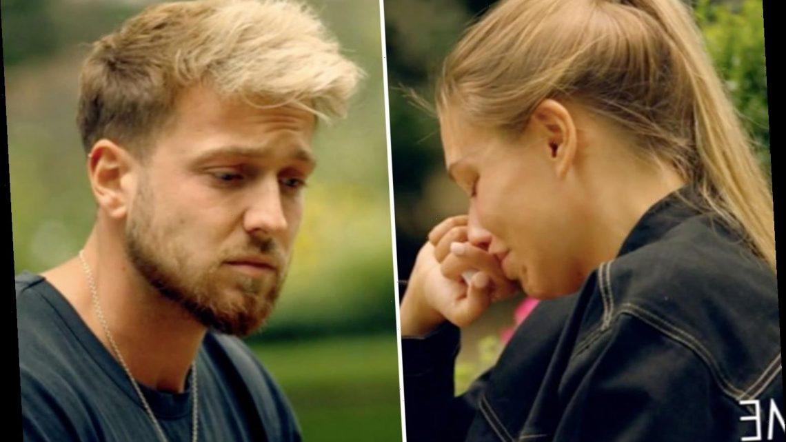 Zara McDermott breaks down in tears as Sam Thompson tells her 'you're so good at lying' as cheating is exposed