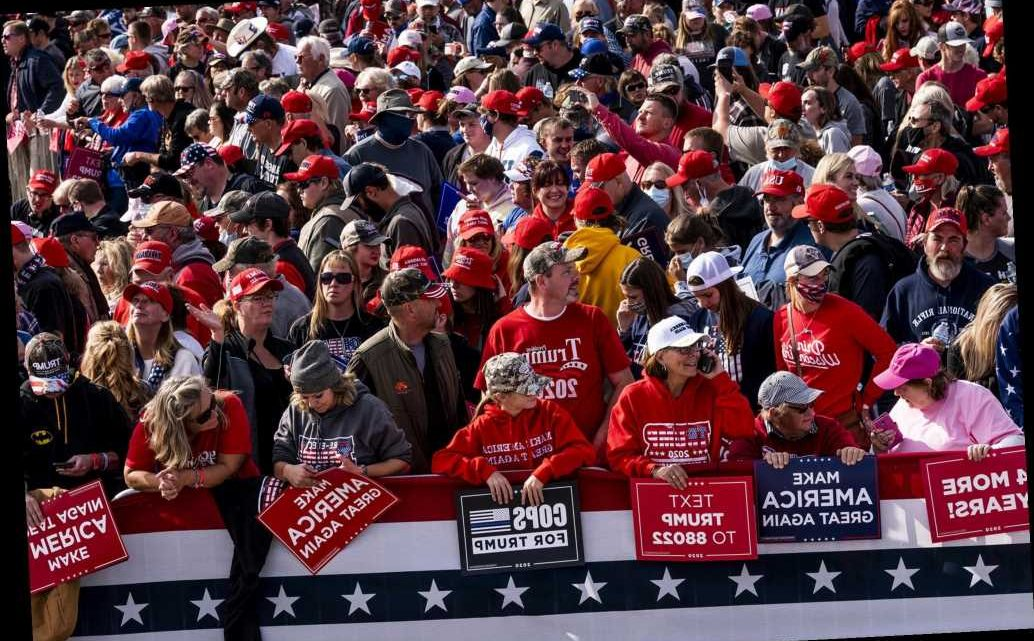 Nine Trump supporters with COVID-19 attended Minnesota rally