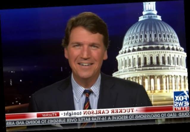 Tucker Carlson Makes Transphobic Joke to Defend Barrett's Use of 'Sexual Preference' (Video)