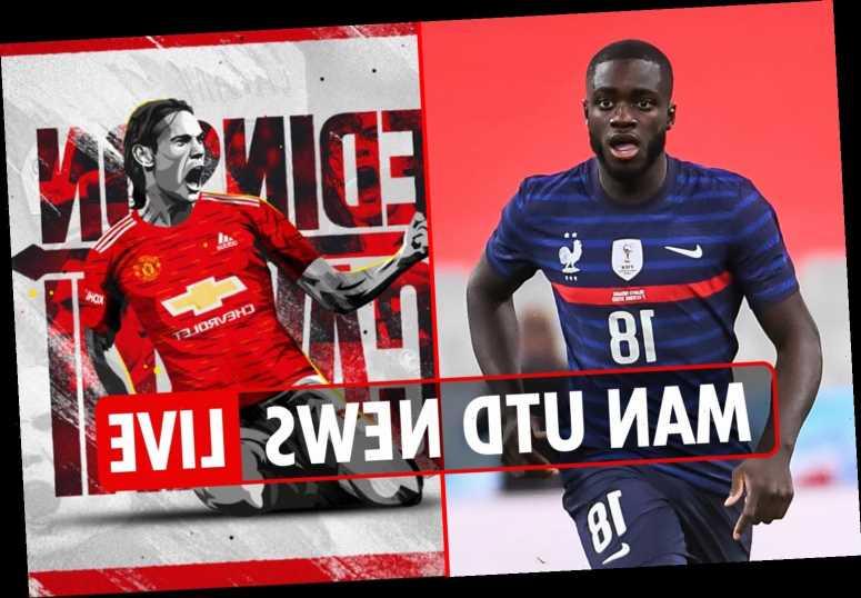 8am Man Utd transfer news LIVE: Upamecano cut price £38m deal wanted, Cavani could avoid quarantine – The Sun