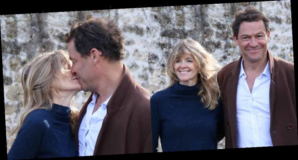 Dominic West & Wife Catherine FitzGerald Release Joint Statement, Kiss After Lily James PDA Pics