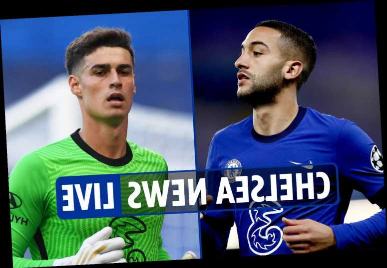 8.15am Chelsea news LIVE: Ziyech fitness LATEST, Kepa shock loan transfer to Sevilla, Loftus-Cheek pushed for Fulham mov – The Sun