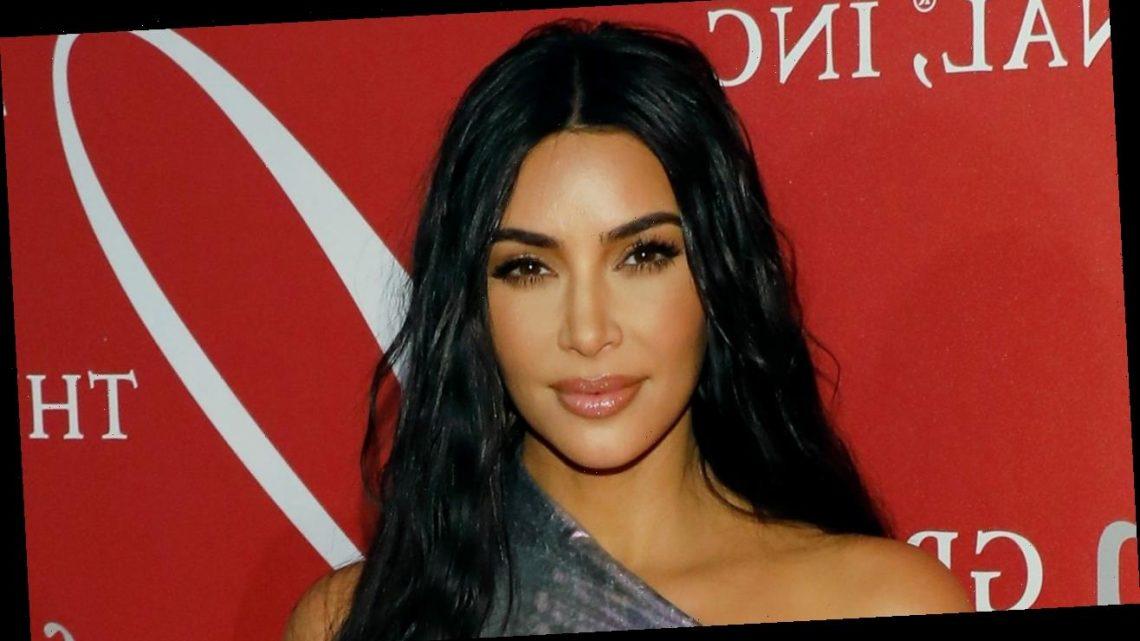 Kim Kardashian Just Wore a Waist-Length Ponytail Braid With an Epic Twist
