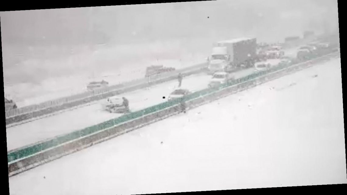 Winter weather brings 'multiple' rounds of snow to Upper Midwest, Iowa hit with snow squalls