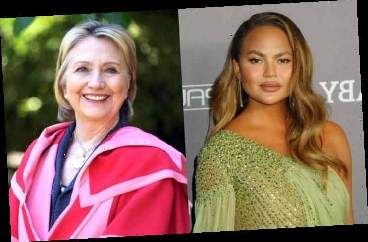 Chrissy Teigen Freaks Out After Receiving Support From Hillary Clinton