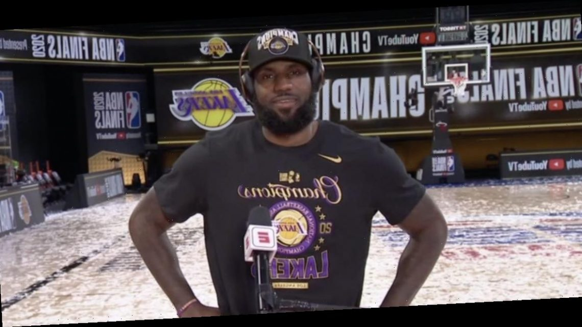 LeBron James says 35-year-old LeBron would dominate 27-year-old LeBron